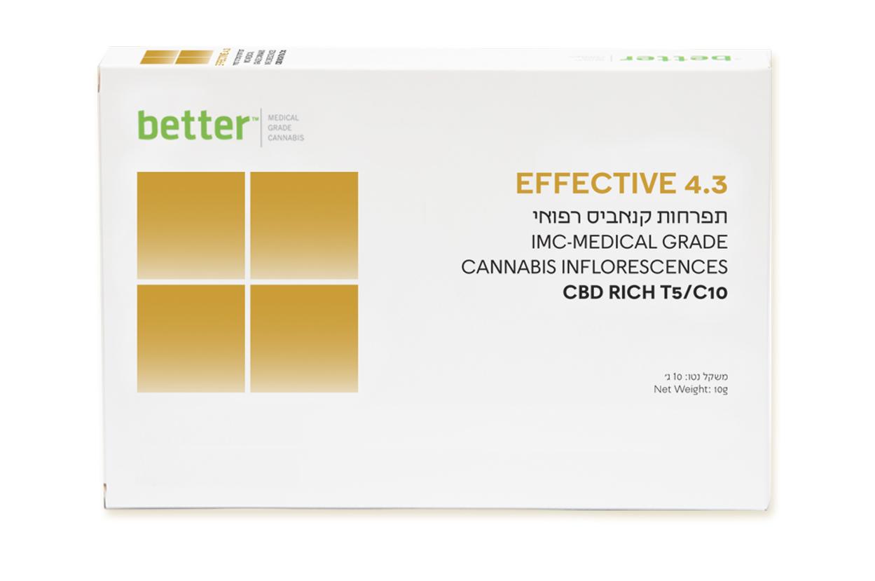 EFFECTIVE 4.3 T5/C10